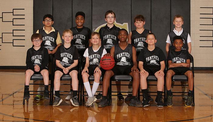 PeeWee Boys Basketball